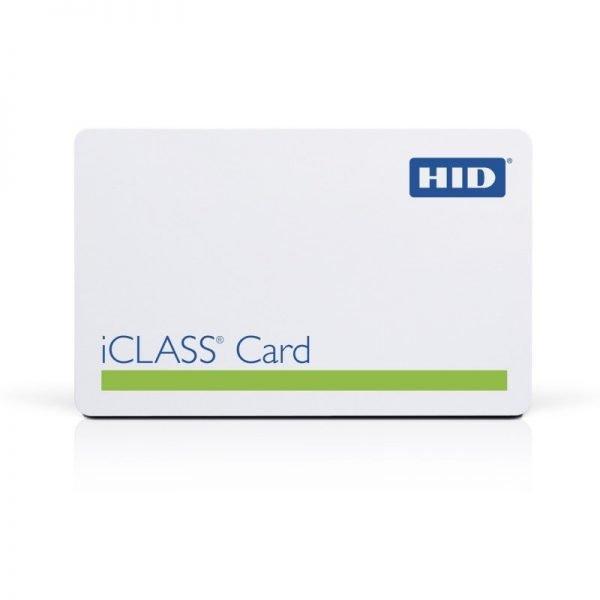 HID 2000PGGMN iCLASS Smart Card