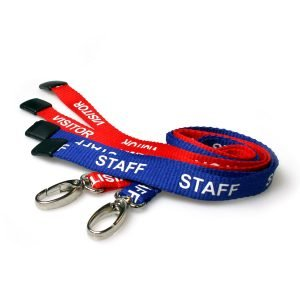 Printed Lanyards with Metal Clip