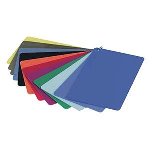 Blank Coloured Cards