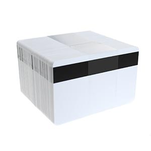 Magnetic Stripe Plastic Cards