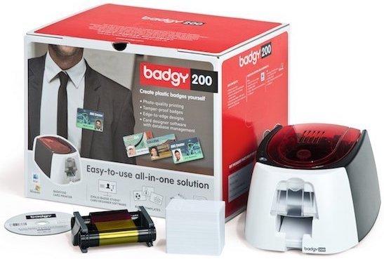 Evolis Badgy200 ID Card Printer Solution B22U0000RS