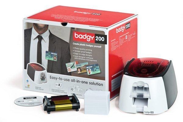 Evolis Badgy200 ID Card Printer Solution