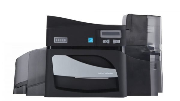 Fargo DTC4500e Single Sided ID Card Printer
