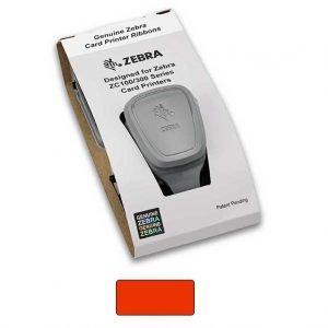 Zebra 800300-302 ZC100 Red Mono Ribbon