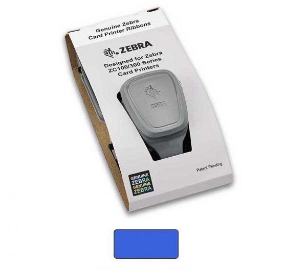 Zebra 800300-304 ZC300 Blue Mono Ribbon
