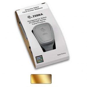 Zebra 800300-306 ZC300 Gold Mono Ribbon