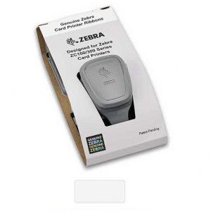 Zebra 800300-309EM ZC300 White Mono Ribbon