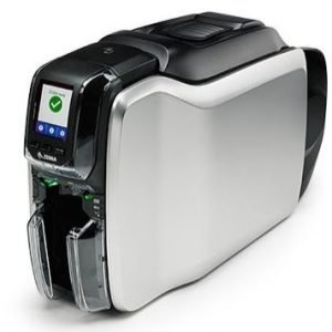 Zebra ZC300 ID Card Printer with Ethernet - Single Sided