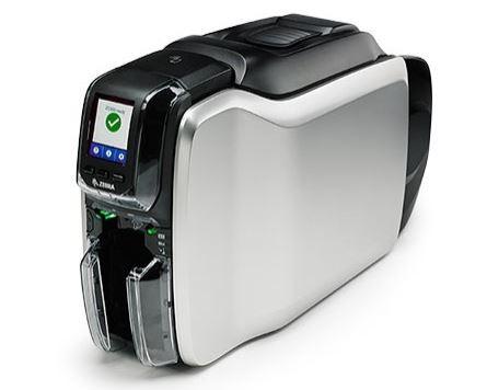 Zebra ZC300 ID Card Printer with Ethernet - Single Sided