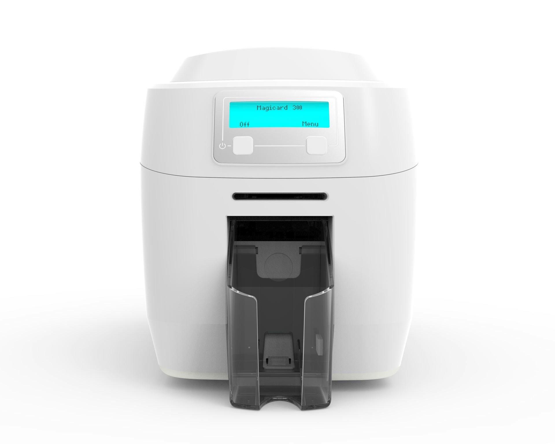Magicard 300 ID Card Printer with Smart Card Encoding 3300-0023