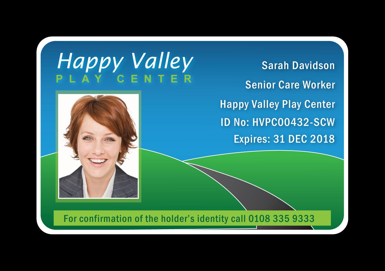Nurseery ID Card