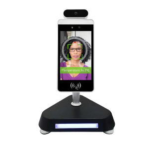 Temperature Measurement Kiosk with Facial Recognition - Desktop Stand