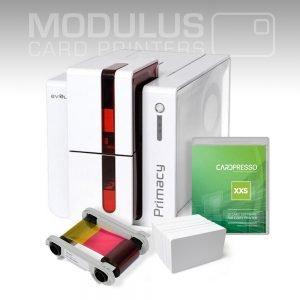 Evolis Primacy Dual Sided Card Printer Package