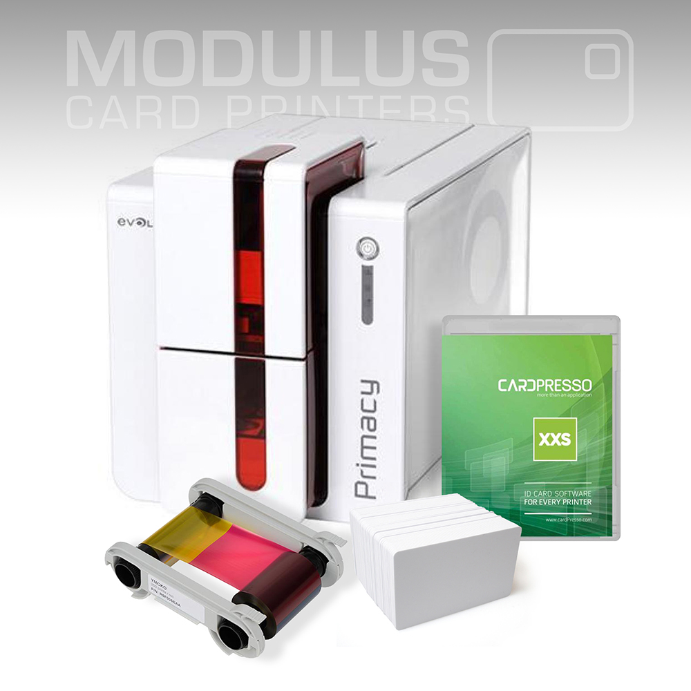 Evolis Primacy Dual Sided Card Printer Package