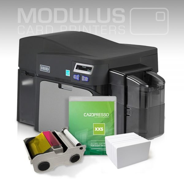 Fargo DTC1250e Dual Sided Card Printer Package