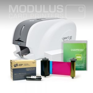 IDP Smart 31S Single Sided Card Printer Package