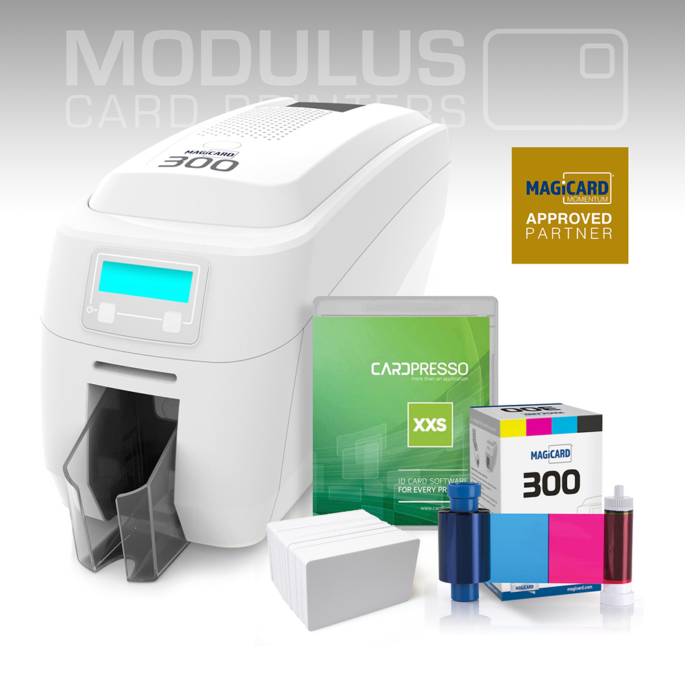 Magicard 300 Single Sided Card Printer Package