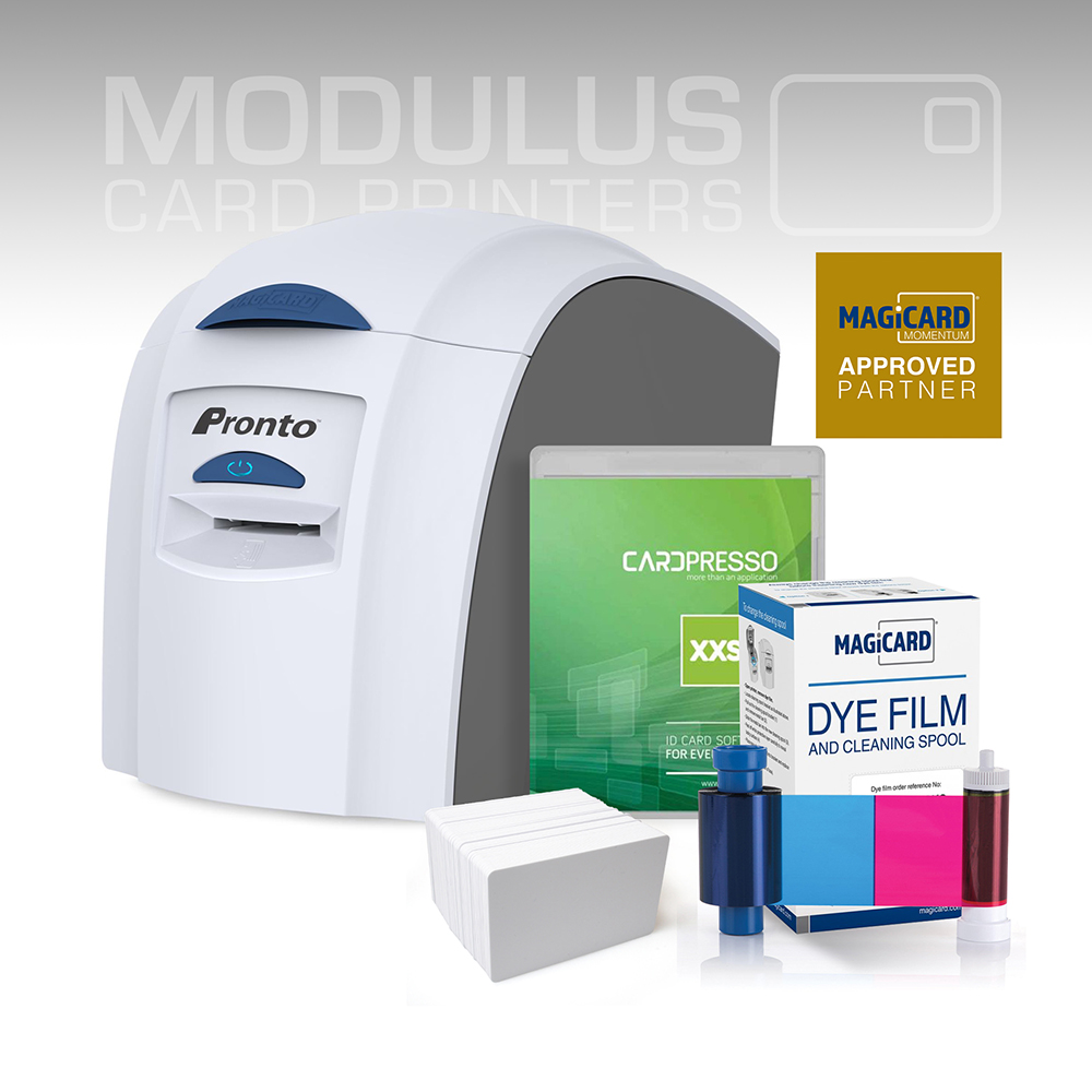 Magicard Pronto Single Sided Card Printer Package
