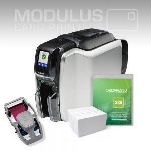 Zebra ZC300 Dual Sided Card Printer Package