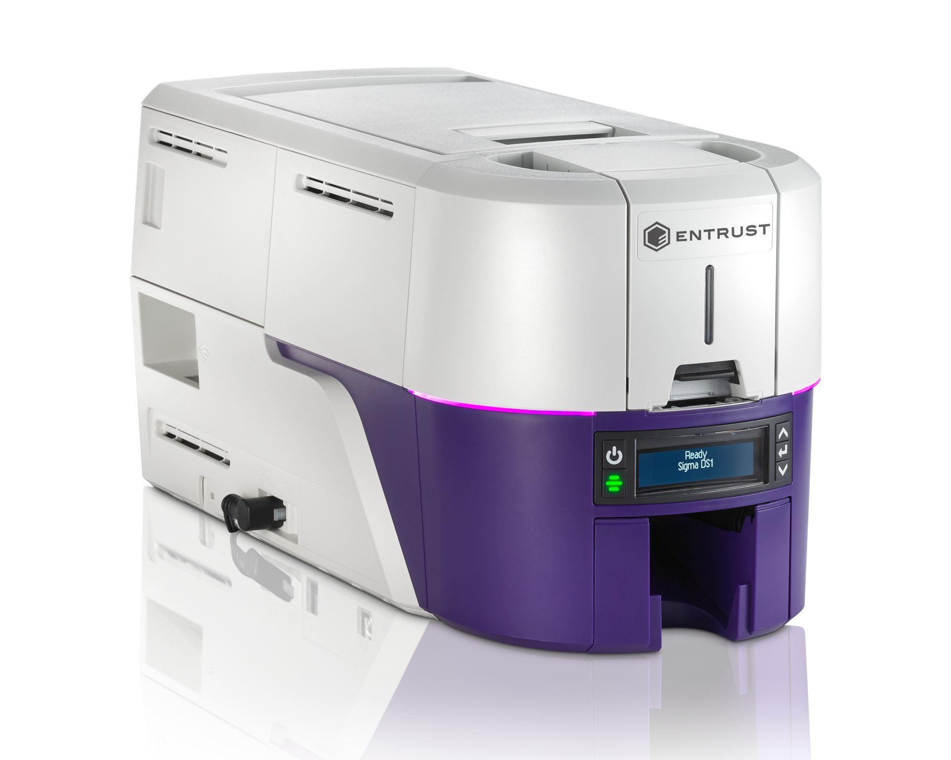 Entrust Sigma DS1 ID Card Printer 525300-001