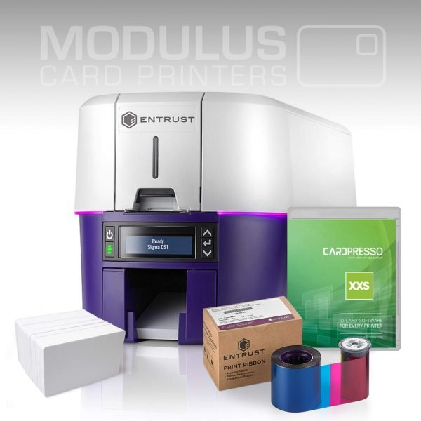 Entrust Sigma DS1 ID Card Printer Package