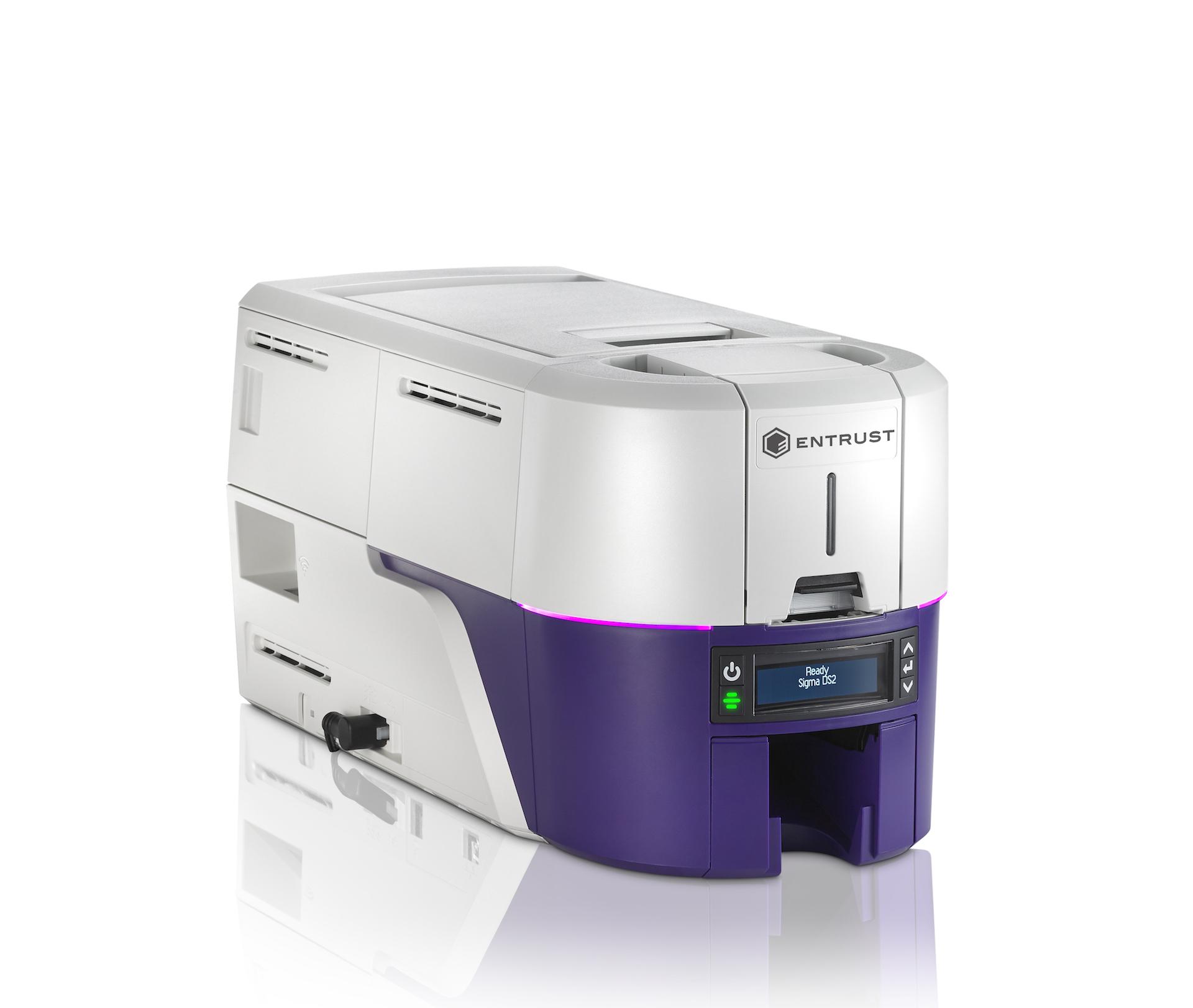 Entrust Sigma DS2 ID Card Printer 525301-001