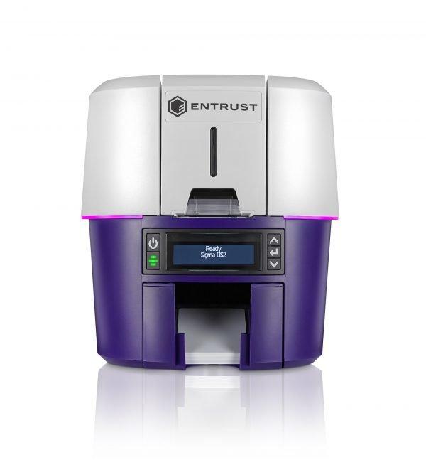 Entrust Sigma DS2 Dual Sided ID Card Printer 525301-003