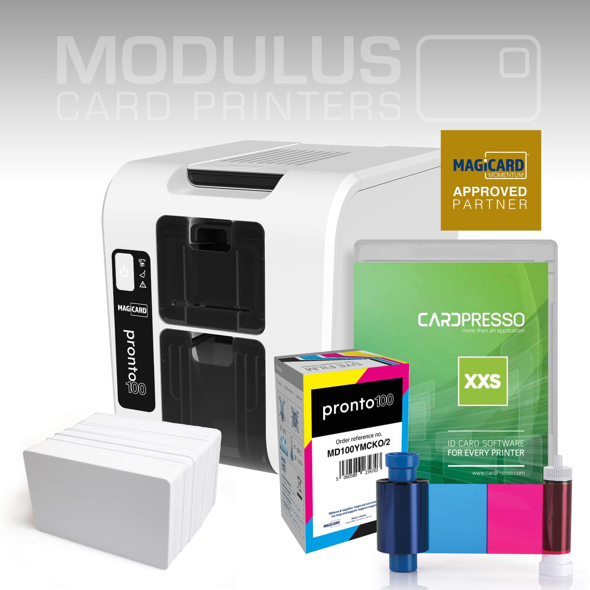Magicard Pronto100 ID Card Printer Package